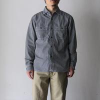OMNIGOD_ギンガムワークシャツⅢ mens/【56-0325X】
