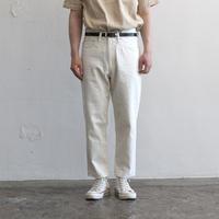 OMNIGOD_8oz綿麻デニムホワイトmen/【53-0088E】