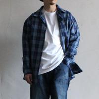 OMNIGOD_綿麻チェックボックスシャツ2mens/【56-0337X】