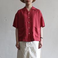 OMNIGOD_レーヨンキュプラシルクエットシャツwomen/【56-0334X】