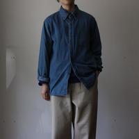 OMNIGOD_5.5ozデニムBDシャツ/ladies【56-0321E】