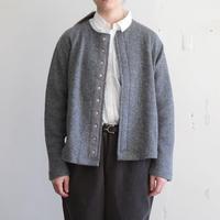 OMNIGOD_クルーネックスナップカーディガン/ladies【59-0893N】