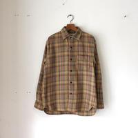 OMNIGOD_スプレッドカラーシャツ/mens【56-0320T】Brown