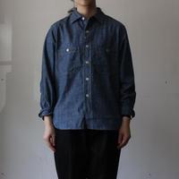 OMNIGOD_シャンブレーワークシャツⅢ/ladies【56-0267X】