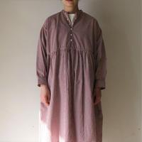 OMNIGOD_ギンガムギャザードレス womens/【57-0626X】