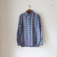 OMNIGOD_スプレッドカラーシャツ/mens【56-0320T】blue