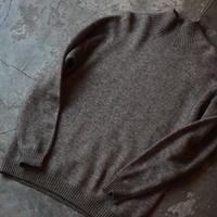 alvana _ YAK WOOL turtle knit 【 I122F0007 】