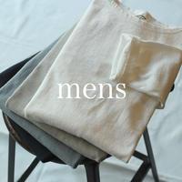 ボートネックチューブシャツ / mens【 59-429N 】