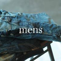 セルヴィッチデニム 5Pストレートジーンズ / mens _ used【 50-0084A 】