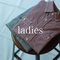 セルヴィッチブロードギンガムチェック ワークシャツⅢ / ladies【 56-0910X 】