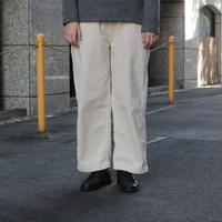 OMNIGOD/14W CORDUROY WESTERN WIDE PANTS  [53-758H  ladies]