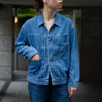 7oz DENIM SHORT JACKET AG [58-842E  Ladies]