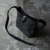 ARTS&CRAFTS / CANVAS BUSKET SHOULDER / BLACK [I011M0118]