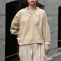 ARTE POVERA _ STAND PULLOVER SHIRTS/ladies 【I017A0097】