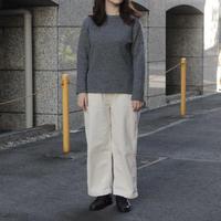OMNIGOD_接結ウール ボートネックセーター/ladies【59-0892N】