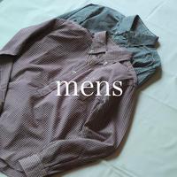 セルヴィッチブロードギンガムチェック プルオーバーシャツ / mens【 56-0322X 】