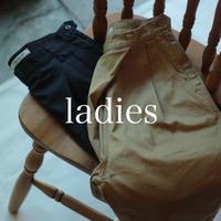 ウエポン タックテーパードパンツ / ladies【53-0759T】
