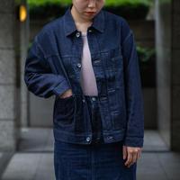OMNIGOD_7oz甘織りデニム ショートジャケット/ladies【58-0841E ow】