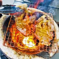 「 かみふらのポーク」の焼肉 2種食べ比べ1.0kg(各500g)  と北海道産やさいセット