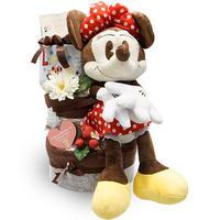世界一可愛いミニーマウス♪[ミニー]のオムツケーキ(3段)