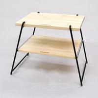 【WEB限定】サイドテーブル&チェアLサイズバッグ付:BK