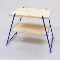 【WEB限定】サイドテーブル&チェア Lサイズバッグ付:BL