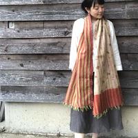 リサイクルサリー カンタ(刺し子)のストール 10