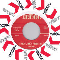 J Rocc / Funky President Edits Vol. 4: The Funky Pres Mix Part 1&2 / 7inch