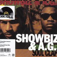Showbiz & A.G. / Soul Clap (Short Version) / Soul Clap (Off Beat Mix ) / 7inch