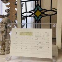 2020年版 MOONカレンダー(透明スタンド付)