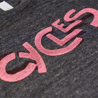 CYCLES  T-Shirts(BK)