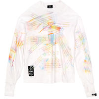 ONECC LETTER GRAFFITI LONG SLEEVED TEE