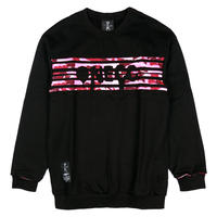 ONECC CAMOUFLAGE PINK CODE 13 SWEATER