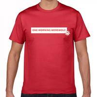ワンモーニング人狼Tシャツ