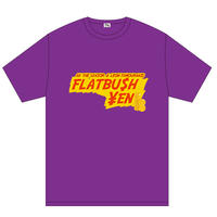 """FLATBU$H ¥EN"" TEE SHIRT (PURPLE)"