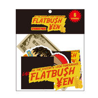 """FLATBU$H ¥EN"" STICKER SET (6枚入り / 6 STICKERS )"