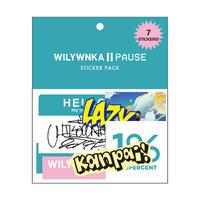 """WILYWNKA """"PAUSE"""" ステッカーセット (7枚入り)"""