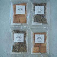【おから&黒ごま】クッキー4袋セット