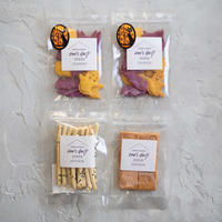【期間限定】米粉のハロウィンクッキー2袋&さつま&おから《ネコポス利用お得4袋セット》送料込み商品