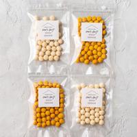 たまごなし2袋&かぼちゃ2袋【ネコポス利用お得4袋セット】