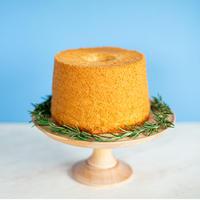 【6月3日発送】米粉のさつまいもシフォンケーキ(直径17cmホール)