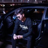 OnFleekロングTシャツ(ブラック)