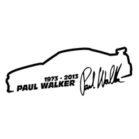 Paul Walker 1973‐2013 カッティングステッカー