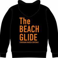 The BEACH GLIDE ジップパーカー (ブラック:オレンジ)