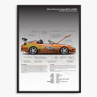 ワイルド・スピード インフォグラフィックポスター(supra)