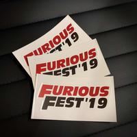 FURIOUS FEST'19 ステッカー