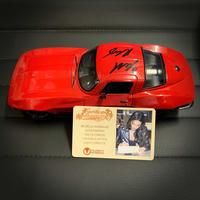 【ユニバーサル公式】ミシェル・ロドリゲス(レティ)直筆サイン証明書付 1:24 Scale Die-Cast Fast & Furious Letty's Chevy Corvette