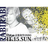 11.15.SUN  RABIRABI Live at 音楽食堂ONDO