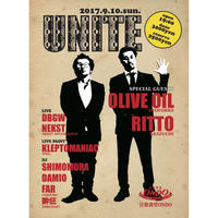9.10.SUN. UNITE with OLIVE OIL & RITTO