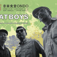 CATBOYS LIVE at 音楽食堂ONDO